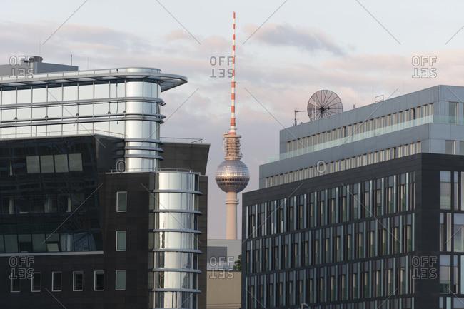 June 23, 2013: TV tower, Berlin, Germany, Europe