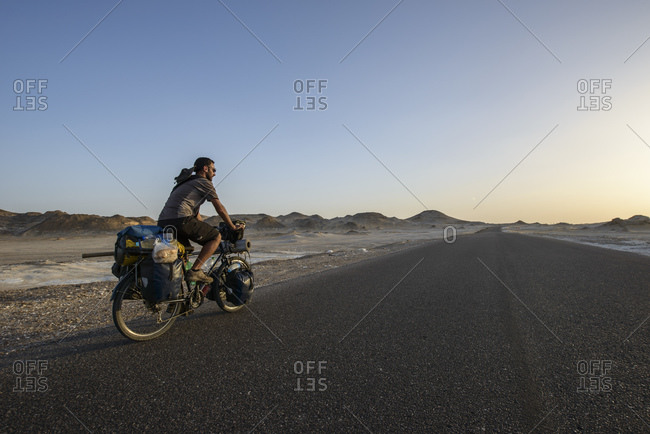 March 28, 2014: Cycling in the Sahara, Egypt