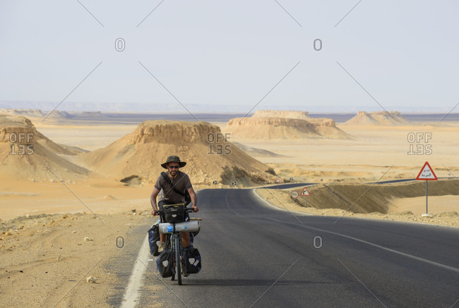March 31, 2014: Cycling in the Sahara, Egypt