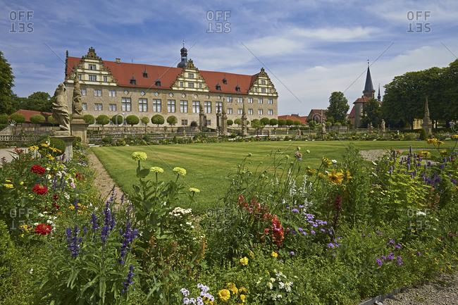 Weikersheim Castle, Main-Tauber-Kreis, Baden-Wurttemberg, Germany