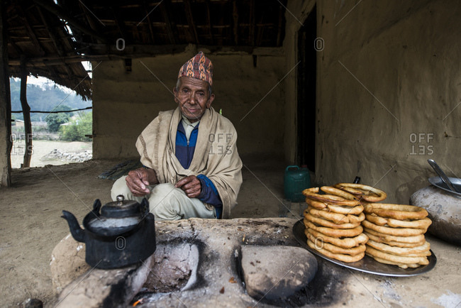 February 10, 2014: Pastry Seller, West Terai, Nepal