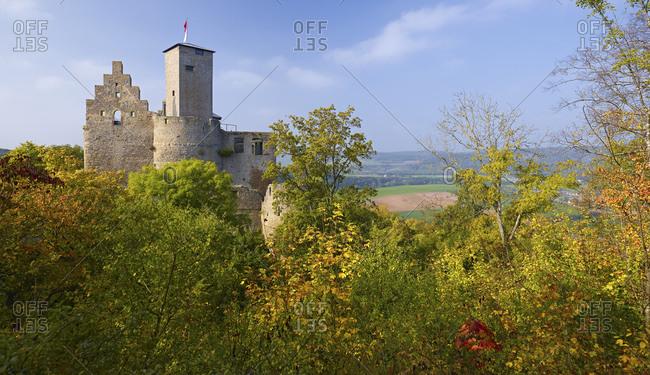 The Trimburg near Trimberg, Elfershausen, Lower Franconia, Bavaria, Germany