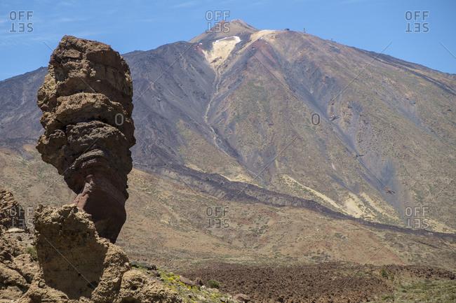 Roque Cinchado and Teide, Tenerife, Canary Islands