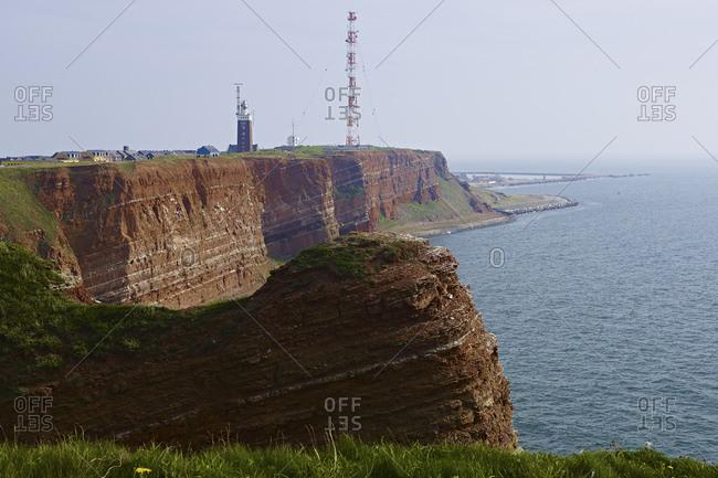 Western cliffs of Helgoland, Schleswig-Holstein, Germany