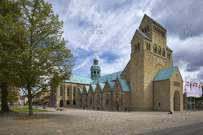 September 25, 2014: St. Mary's Cathedral in Hildesheim, Lower Saxony, Germany