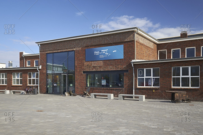 September 27, 2014: Wind force 10, fishing and wreck museum in Cuxhaven, Lower Saxony, Germany