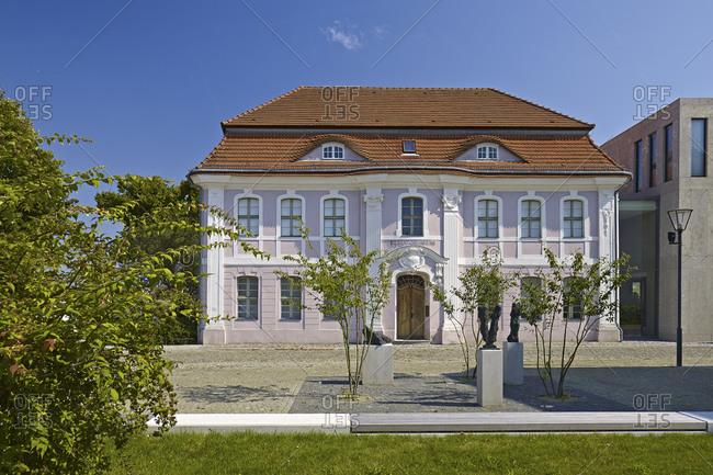 September 4, 2014: Kleist Museum in Frankfurt (Oder), Brandenburg, Germany