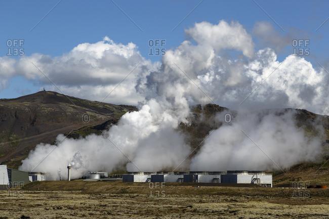 Geothermal power plant, Nessjavellir, Iceland