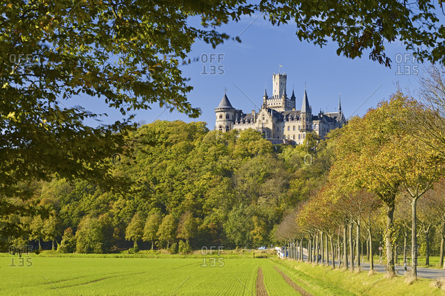 Marienburg Castle near Nordstemmen, Hildesheim district, Lower Saxony, Germany