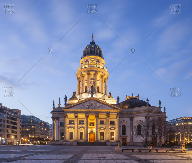 German Cathedral at Gendarmenmarkt, Berlin, Germany