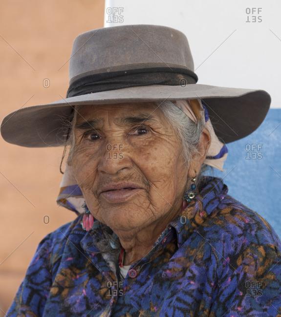 September 2, 2011: Local farmer, Argentina, South America