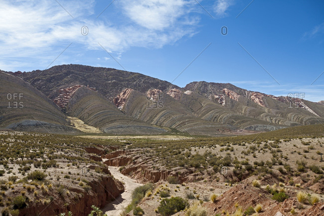 Tres Cruzes mountain range, Jujuy province, Argentina, South America