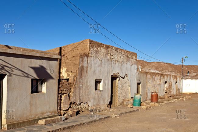 Settlement in the Puna Desert, Tolar Grande, Salta Province, Argentina, South America
