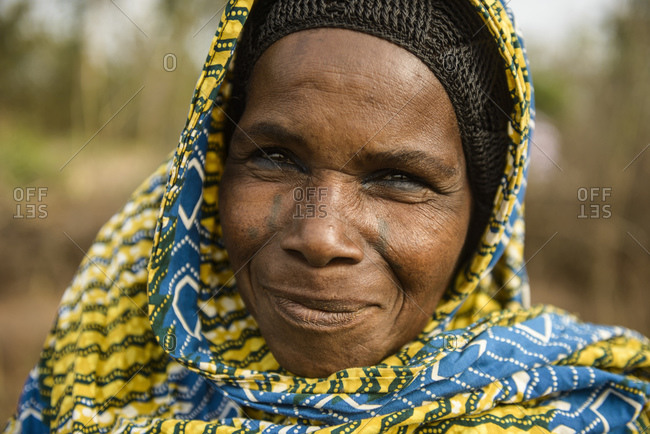 December 5, 2015: Woman from the Fulani people from northern Benin, Africa