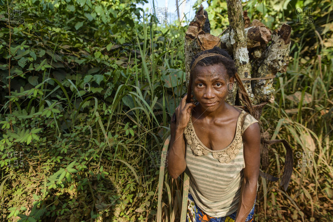 October 2, 2015: People from the Democratic Republic of the Congo, Africa