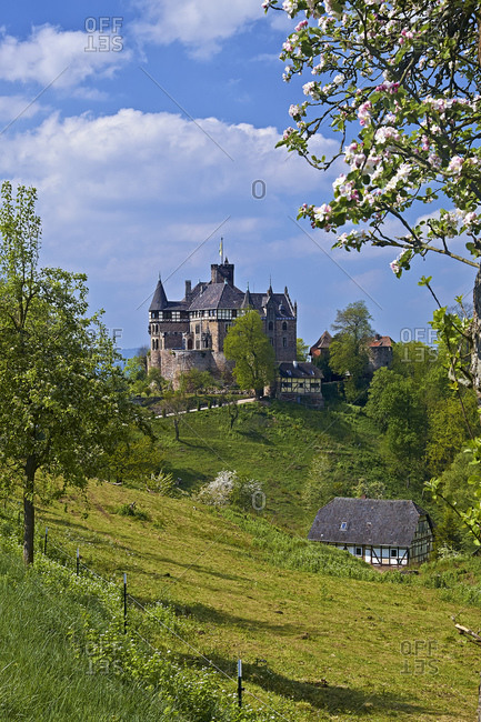 Berlepsch Castle near Witzenhausen, Goettingen District, Hesse, Germany, Europe