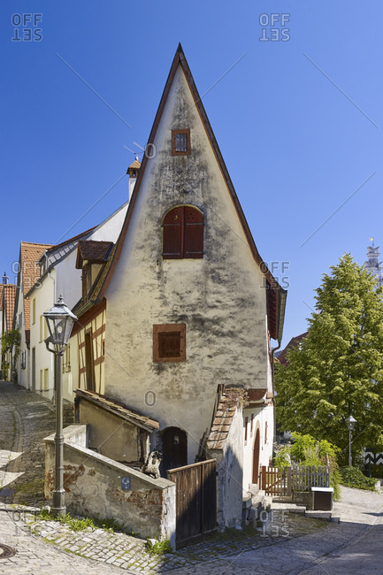 Winzerhausle in the wine village Sulzfeld, Lower Franconia, Bavaria, Germany
