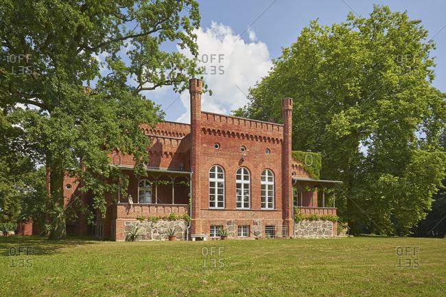 Libnow Mansion, Mecklenburg-West Pomerania, Germany