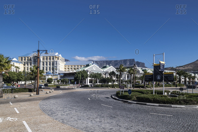 March 13, 2016: Alfred Mall, Shopping Center, V&A Waterfront, Cape Town, Western Cape, South Africa, Africa