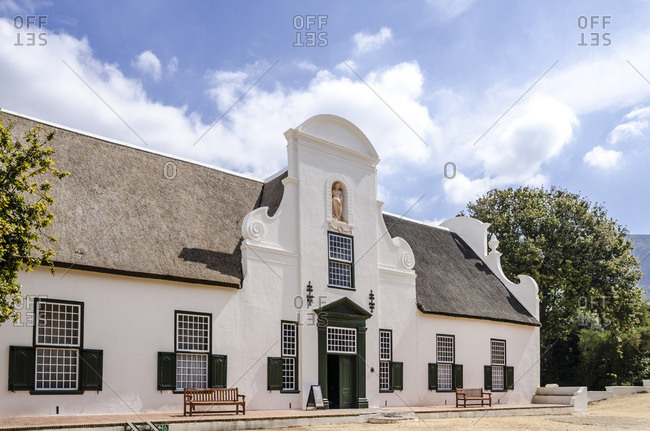 Groot Constantia winery, Cape Town, South Africa, Africa