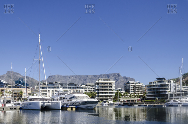 March 16, 2016: V&A Waterfront, Cape Town, Western Cape, South Africa, Africa