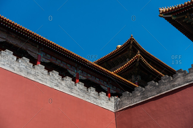 Exterior of the Forbidden City