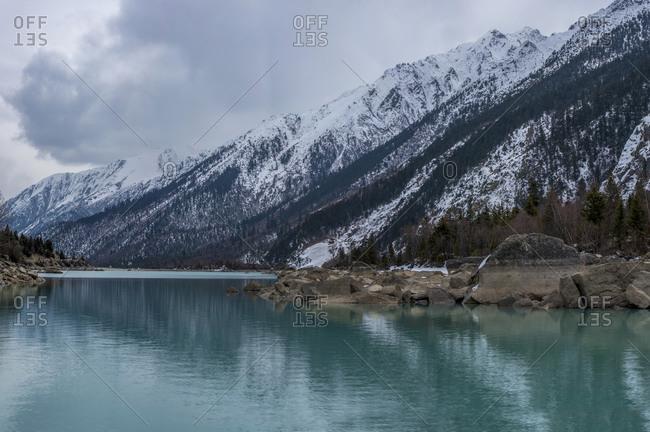 Lin Zhiran Wu Lake in Tibet