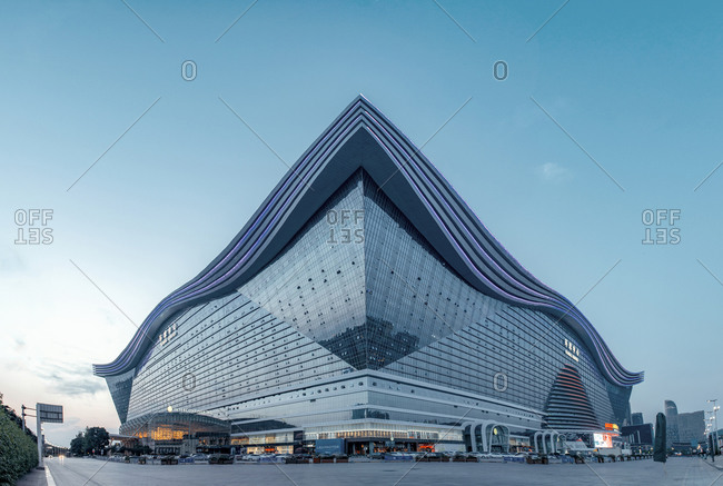 April 5, 2019: Chengdu New Century Global Center Building in China