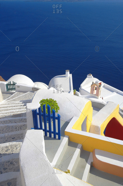 Oia, Santorini island, Cyclades, Greek Islands, Greece, Europe