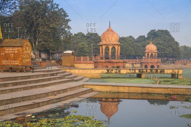February 12, 2019: Kuria Ghat Park, Lucknow, Uttar Pradesh, India, Asia