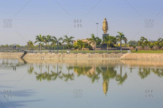 February 11, 2019: Janeshwar Mishra Park, Lucknow, Uttar Pradesh, India, Asia
