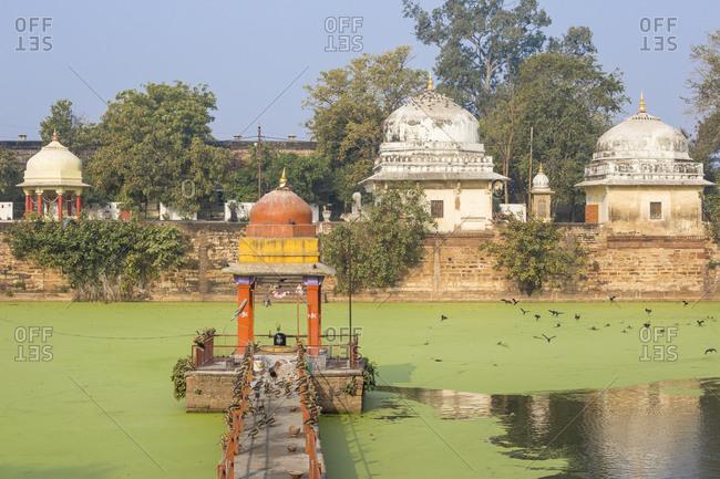 February 22, 2019: Suraj Kund, Gwalior Fort, Gwalior, Madhya Pradesh, India, Asia