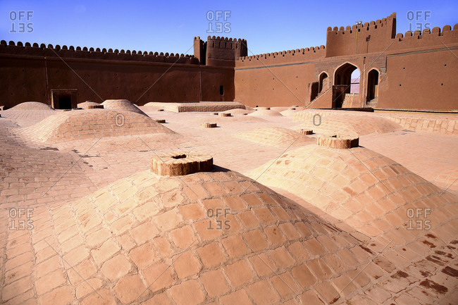 Iran- Kerman Province- Rayen- Well preserved interior of Rayen Castle
