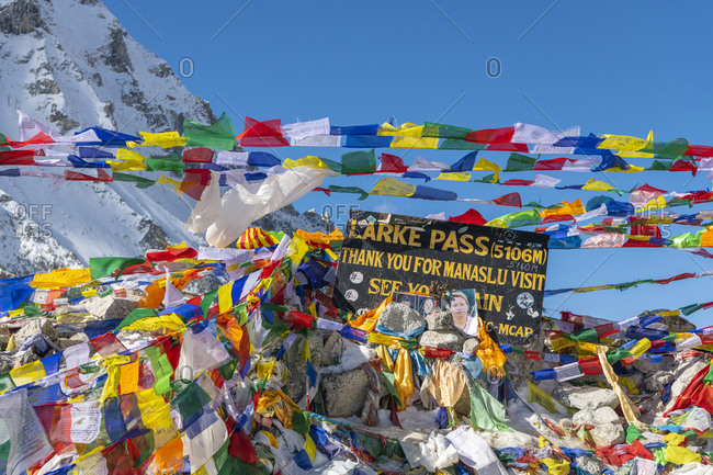 November 3, 2019: Larkya Pass (5106 m) in the Himalayas