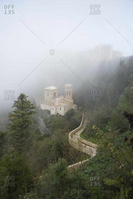 Venus Castle, Erice, Sicily, Italy.