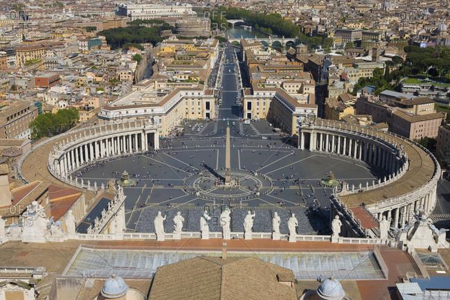 April 20, 2014: Italy, Lazio, Rome, Saint Peter's Square