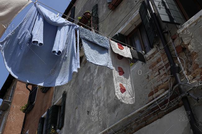 Castello district in Italy, Venice,