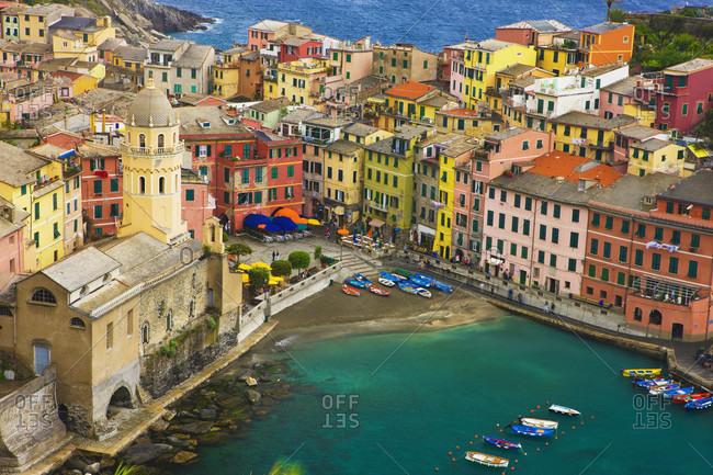 Italy, Liguria, Cinque Terre, Vernazza