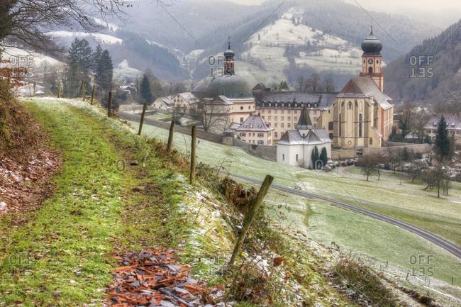 Germany, Baden-Wuerttemberg, Black Forest, Saint Trudpert Abbey