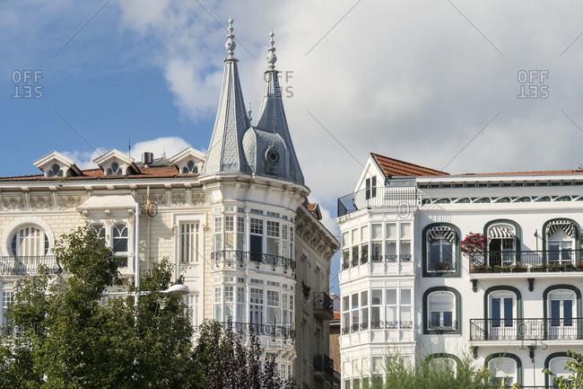 Spain, Cantabria, Castro-Urdiales, Modernisme style, Spanish Art Nouveau