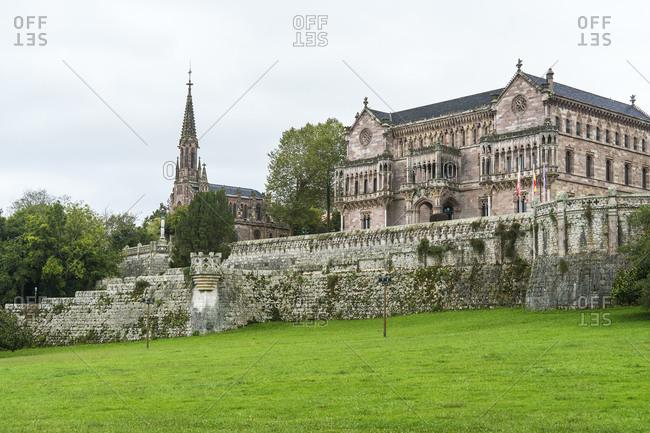 Spain, north coast, Cantabria, Comillas, Palacio de Sobrellano, Panteon de Sobrellano