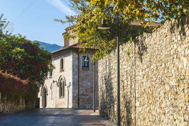 Spain, Asturias, Llanes, historic old town, Basilica de Santa Maria del Concejo