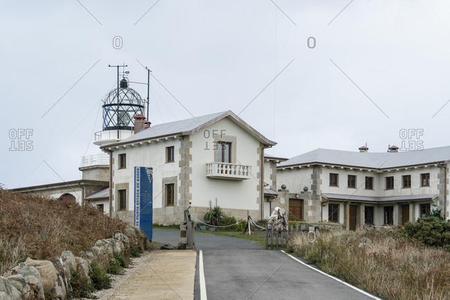 October 9, 2019: Spain, north coast, Galicia, Punta de Estaca de Bares, northernmost point of the Iberian Peninsula