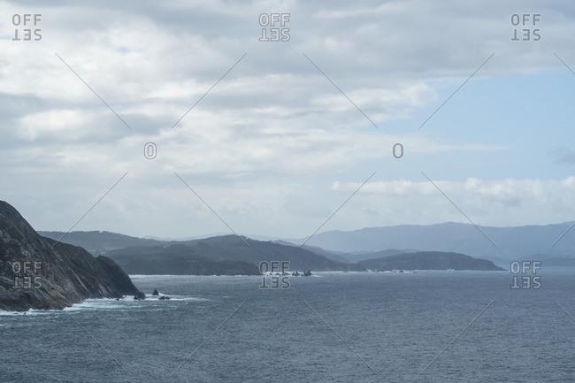 Spain, north coast, Galicia, Punta de Estaca de Bares, northernmost point of the Iberian Peninsula