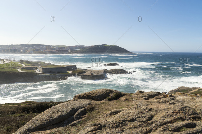 Spain, north coast, Galicia, A Coruna, La Coruna, Aquarium Finisterre