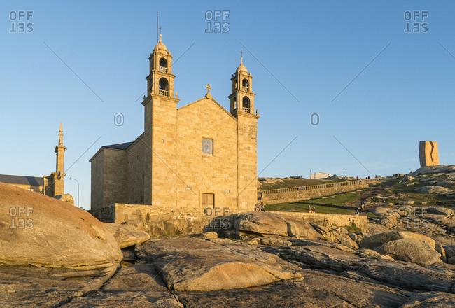 Spain, north coast, Galicia, Muxia, place of pilgrimage, Santuario da Virxe da Barca