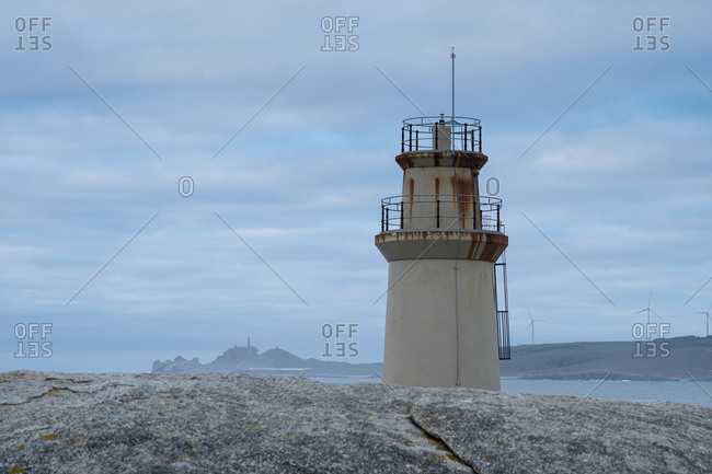 Spain, north coast, Galicia, Costa da Morte, Muxia, Faro de Muxia