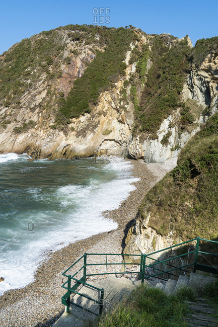 Spain, north coast, Asturias, coast, Jacobsweg