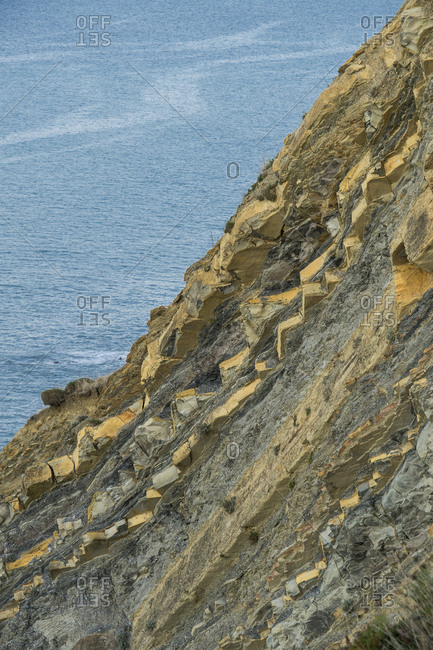 Spain, north coast, Basque Country, Flysch route, Unesco Geopark