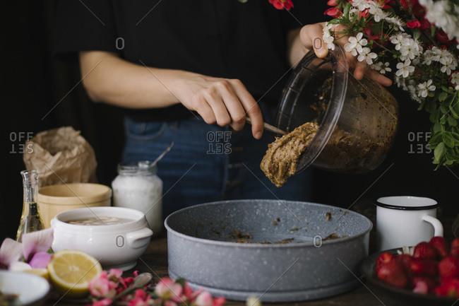 Homemade Vegan Strawberry Flan Recipe